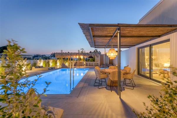 Villa Pefkos Beach in Rhodes