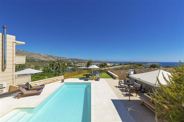Villa Phaedra in Crete