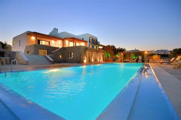 Villa Pharao in Southern Aegean