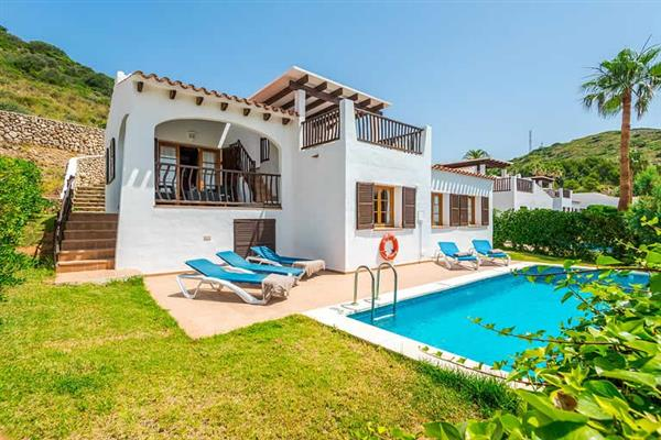 Villa Playas de Fornells in Menorca