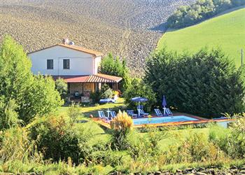 Villa Podere la Palla from James Villas