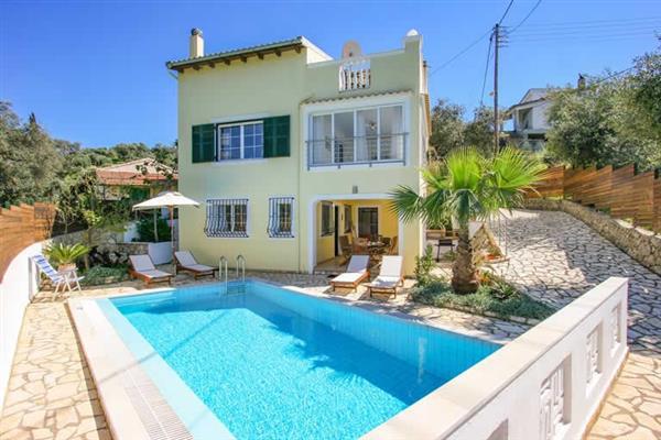 Villa Poseidon in Corfu