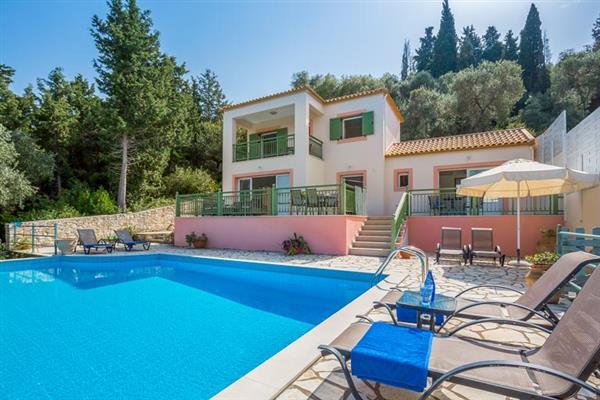 Villa Poseidon in Paxos