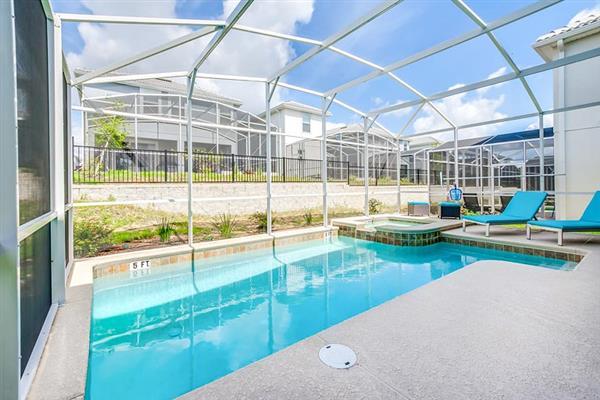 Villa Pumpkin, Champions Gate, Orlando - Florida With Swimming Pool
