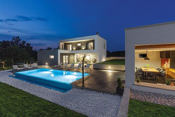 Villa Qube in Croatia
