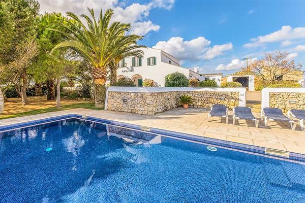 Villa Rafal Fort in Menorca