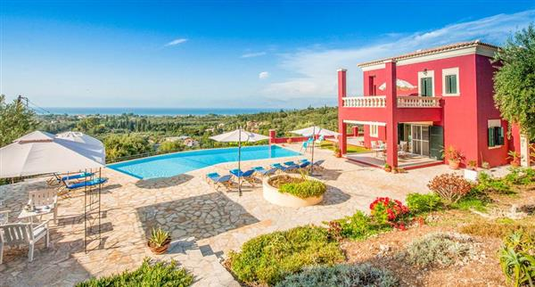 Villa Regina Rossa in Ionian Islands