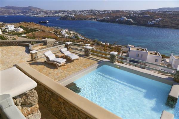 Villa Rho in Southern Aegean