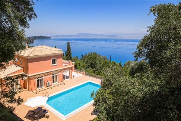 Villa Rodakino in Ionian Islands
