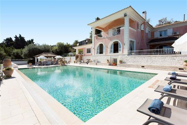 Villa Rosa in Ionian Islands