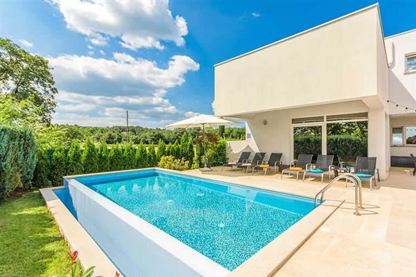 Villa Rose in Croatia