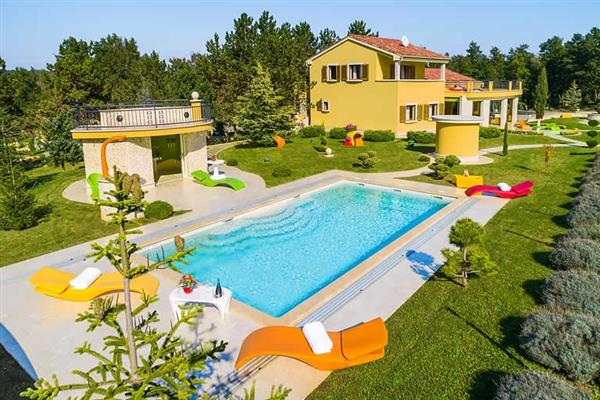 Villa Royal in Croatia