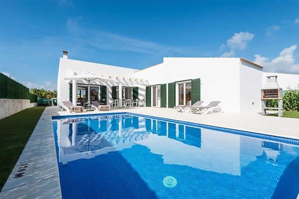 Villa Sa Sivina in Menorca