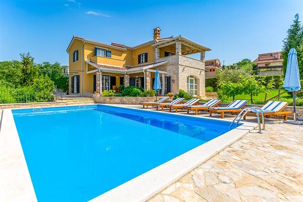 Villa Salvea in Croatia