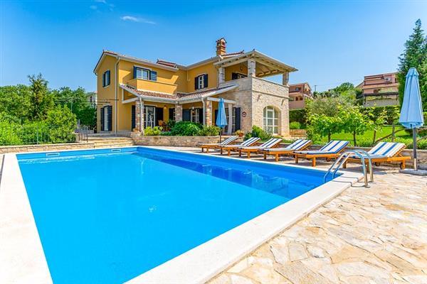 Villa Salvea in Croatia