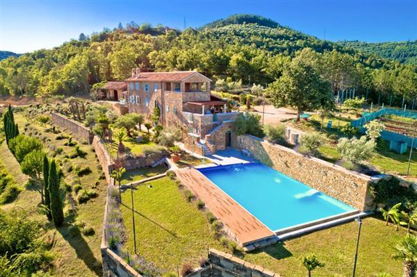 Villa Santrica in Općina Oprtalj