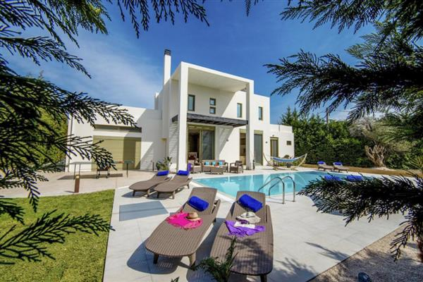Villa Sappho in Southern Aegean