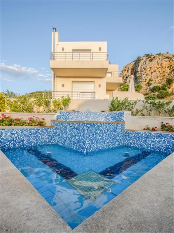 Villa Scirocco in Crete
