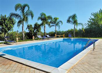 Villa Selinunte Garden from James Villas