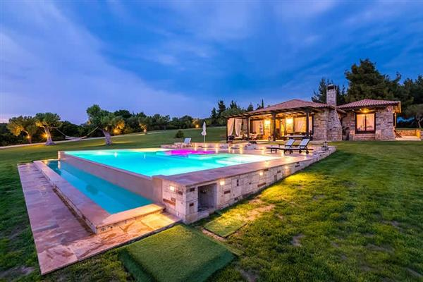 Villa Sithonian Blue in Halkidiki
