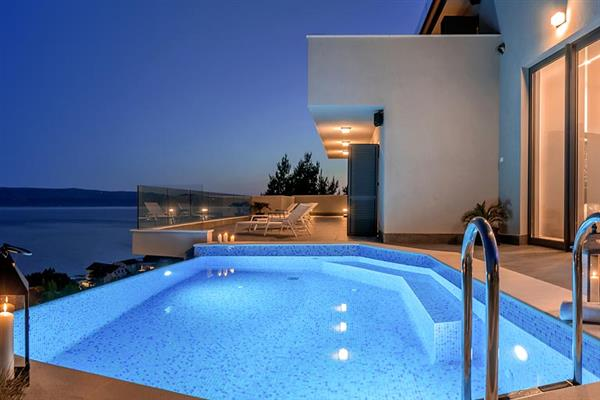 Villa Sky High in Croatia