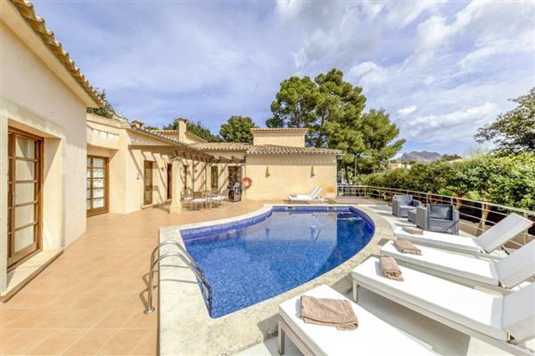 Villa Solvia in Illes Balears