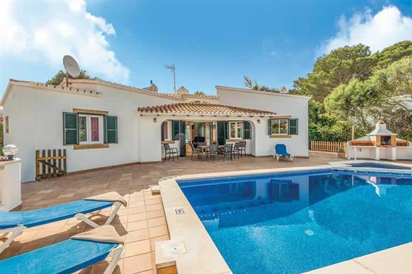 Villa Solymar in Menorca