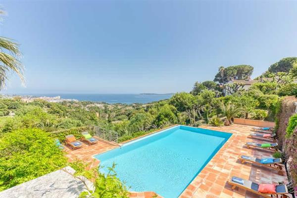 Villa Souleyas in Sainte Maxime, Cote d'Azur - France