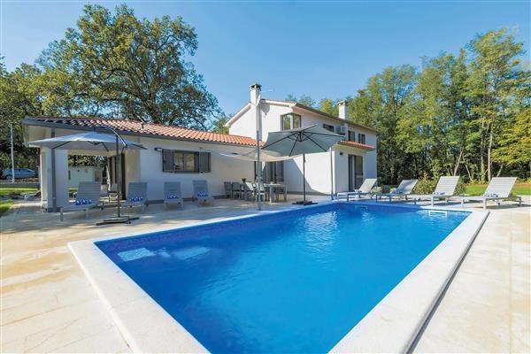 Villa Stepancic in Croatia