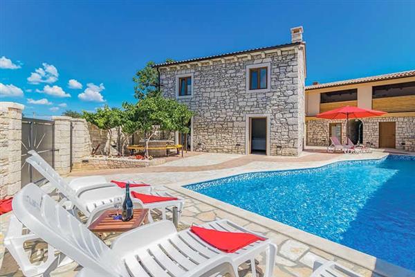 Villa Sunce in Croatia