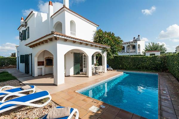 Villa Sunflower in Menorca