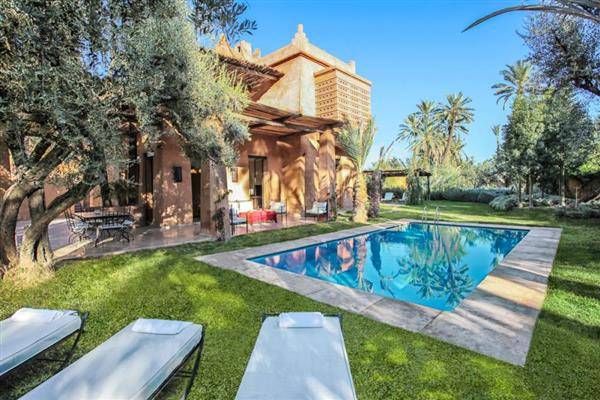 Villa Talal in Marrakech