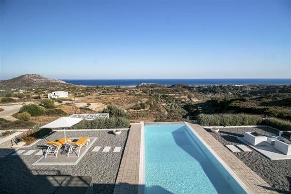 Villa Tatakis in Southern Aegean