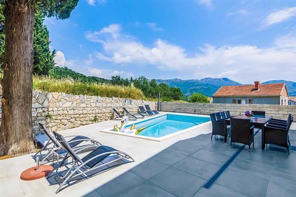 Villa Tesa in Croatia