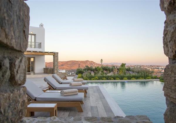 Villa Tessera in Southern Aegean