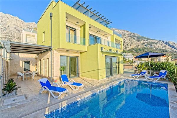 Villa Timarska in Općina Makarska