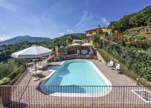 Villa Topazio in Provincia di Pistoia