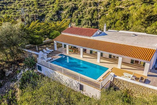 Villa Torrent Verd in Menorca