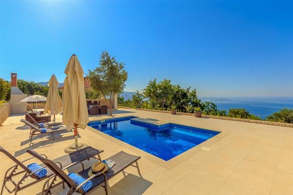 Villa Twilight Gaze in Croatia