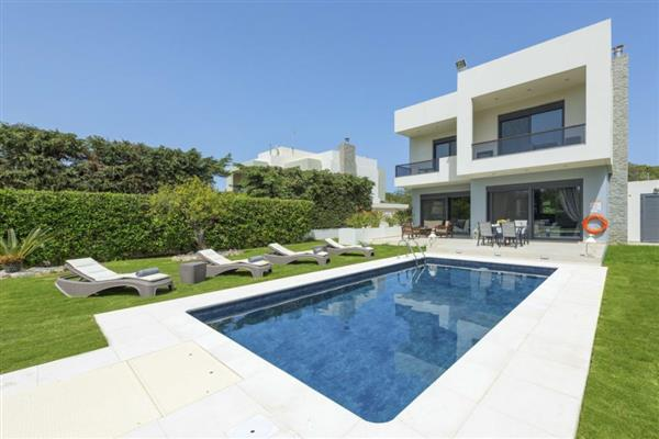 Villa Vikelas in Southern Aegean