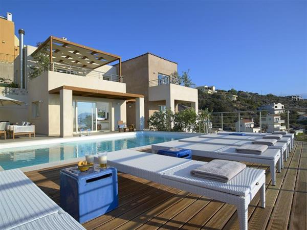 Villa Water in Crete
