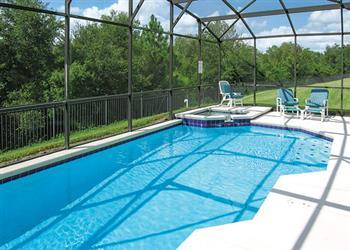 Villa Windsor Palms Executive IV, Windsor Palms, Disney Area and Kissimmee, Orlando - Florida With Swimming Pool