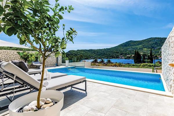 Villa Zaton Bay View in Croatia