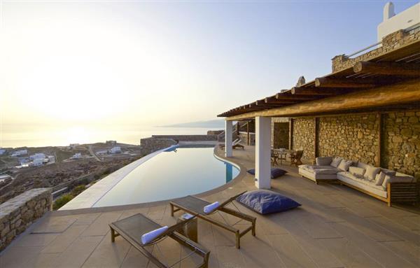 Villa Zeta in Southern Aegean