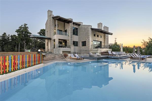 Villa Zevra in Crete