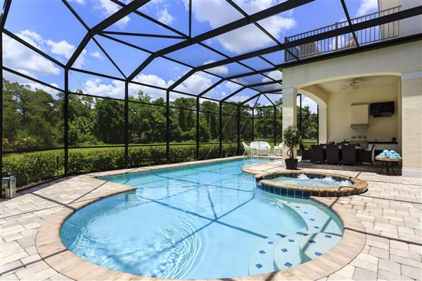 Villa Zircon, Reunion Resort, Florida With Swimming Pool