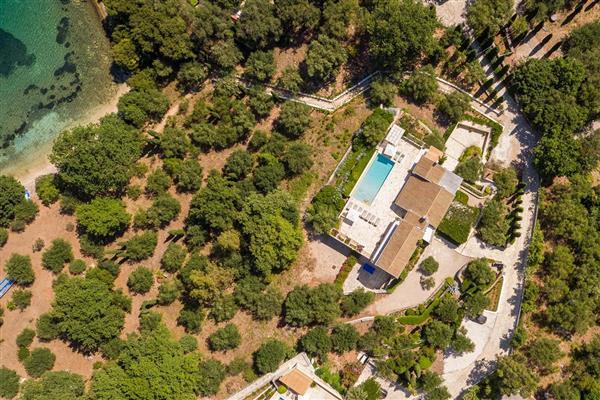 Villa Zografia in Ionian Islands
