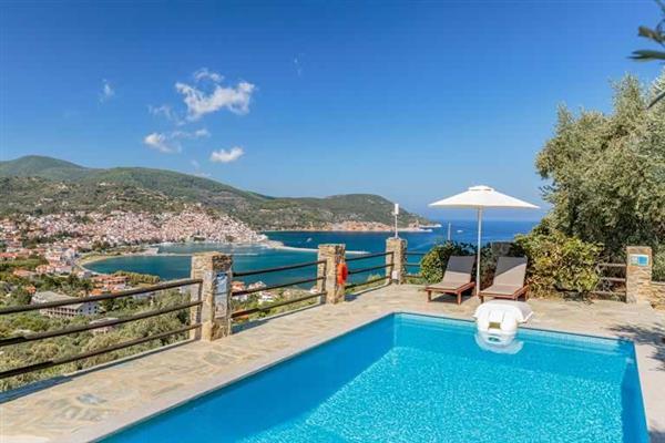 Zoes Villa in Skopelos